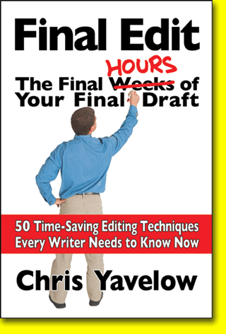 Final Edit, The Final Hours of Your Final Draft (book cover)